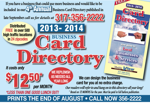 Business card directory ad for website weekly view business card directory ad for website colourmoves