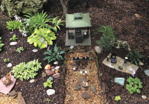 """Ethel Winslow/Weekly ViewA clever """"fairy garden"""" was featured on a past tour."""