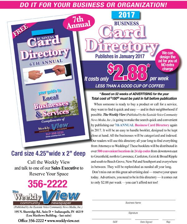 Business card directory flyer 2017 weeklyview weekly view business card directory flyer 2017 weeklyview colourmoves