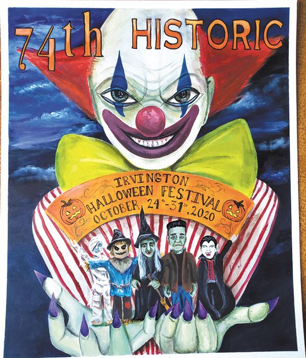 Halloween Irvingron Poster 2020 Irvington Halloween Festival Poster Winner! | Weekly View